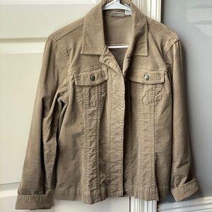 Chico's Corduroy Jacket Size 1/2